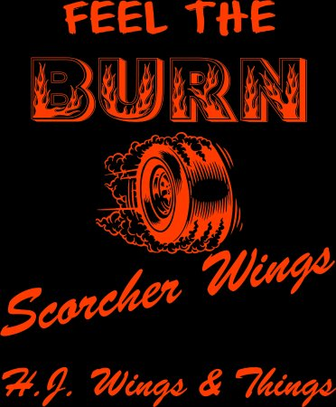 "Newnan, GA: one of our many sauces ""Scorcher"""