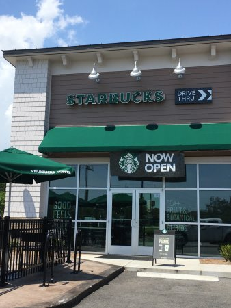 nice new location in murrells inlet review of starbucks. Black Bedroom Furniture Sets. Home Design Ideas