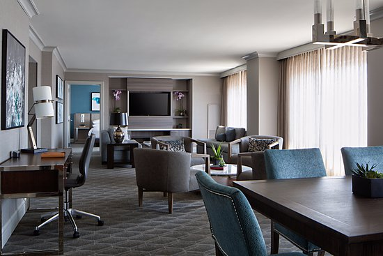Indianapolis Marriott Downtown: The Presidential Suites is the epitome of  newly renovated sophisticated style