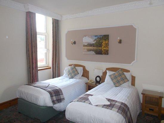 Duke of Gordon Hotel: Comfortable beds