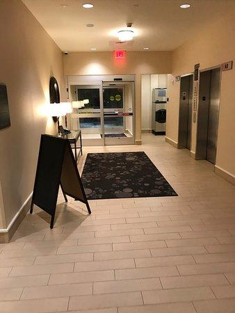 Pool doors Picture of Hilton Garden Inn Boston Logan Airport