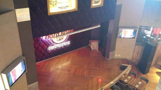 Hard Rock Cafe: Palco do Hard Rock