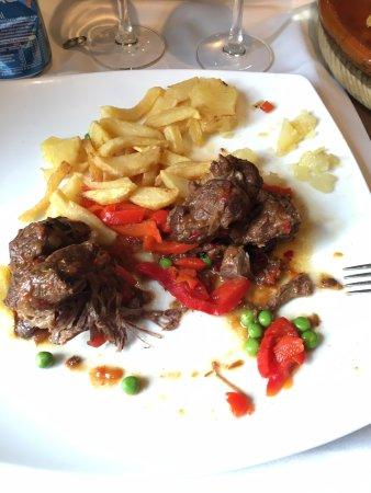 San Jaime: Ternera asada: deliciosa