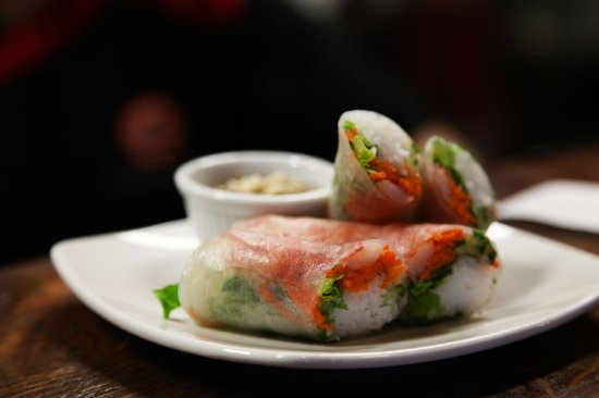 Lake Oswego, Oregón: Fresh Roll W/ Shrimp