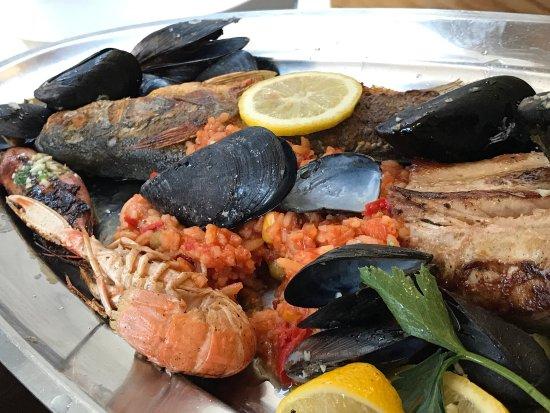 Beste Fischplatte in Omiš