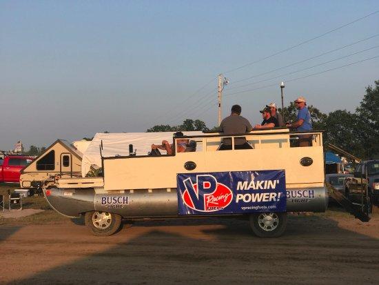 Brainerd, MN: Converted Pontoon boat