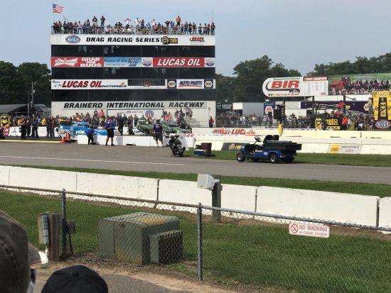 Brainerd, MN: Drag racing