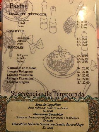 El querubino cajamarca omd men om restauranger for Pasta para quitar gotele precio