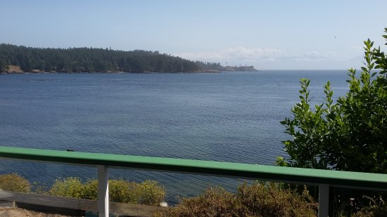 Sooke Harbour House Resort Hotel: View from the balcony