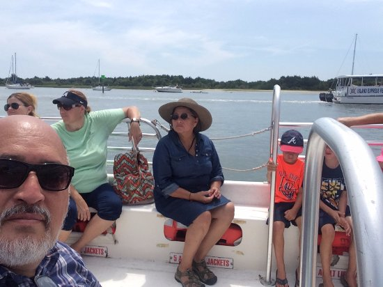 Beaufort, Carolina do Norte: On the 20 passenger boat