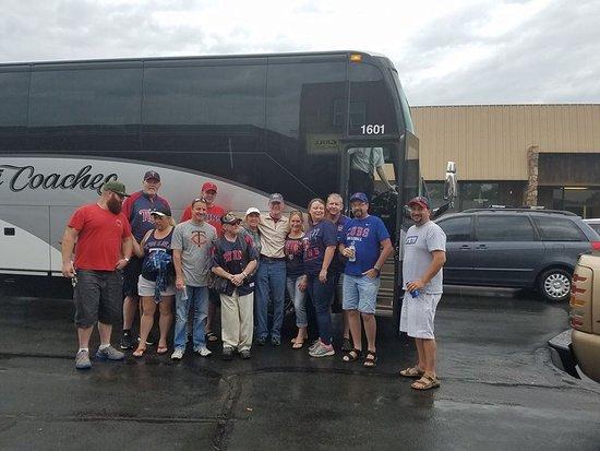 Farmington, MN: Twins Game with The Gang