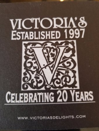 Oxford, มิชิแกน: Coaster celebrating 20 years - well done Victoria