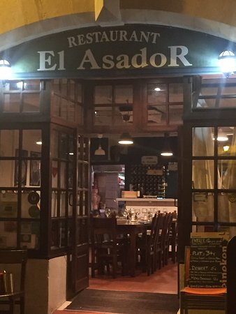 restaurant restaurant el asador dans bayonne. Black Bedroom Furniture Sets. Home Design Ideas