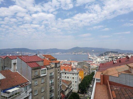 Hotel Oca Ipanema: view from the top floor