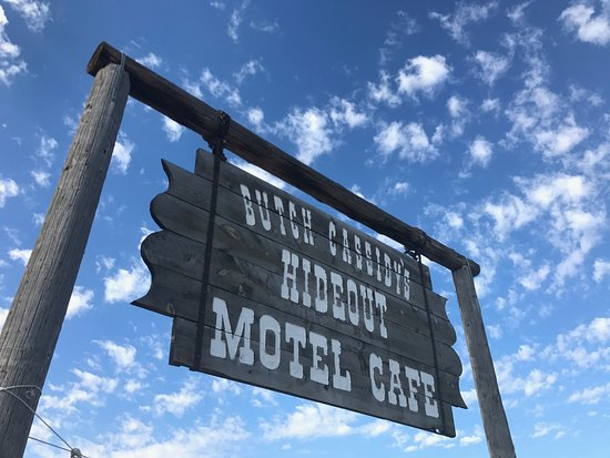 Circleville, UT: Butch Cassidy Hideout Motel & Cafe