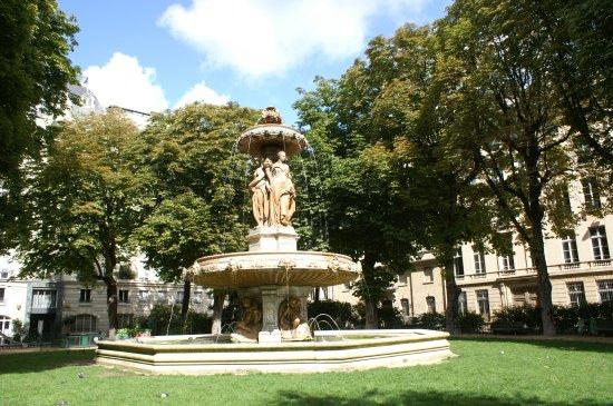 La Fontaine Louvois