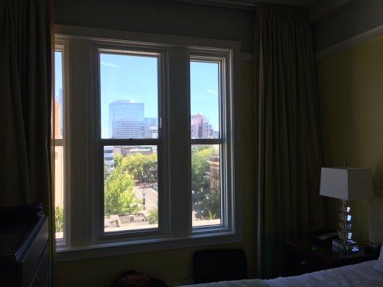 Hotel deLuxe: Decent view.