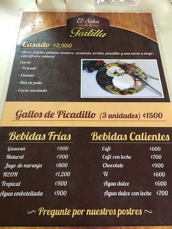 Sabanilla, คอสตาริกา: El Sabor de la Tortilla