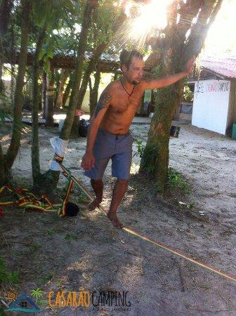 Santinho: SLACKLINE