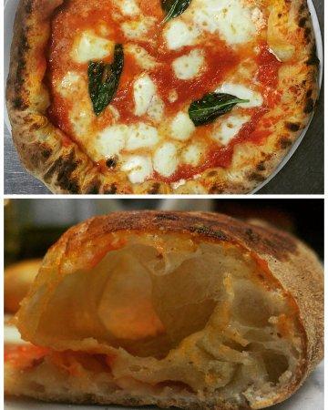 Pizza a Metro con Bufala Dop,Pomodoro del Piennolo e