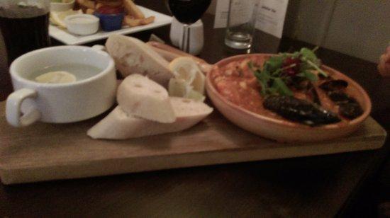Probus, UK: Fish Bouillabaisse