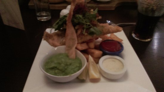 Probus, UK: Fish and Chips