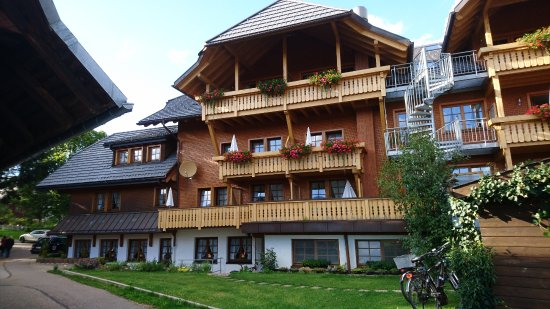 Bernau im Schwarzwald, Germany: Hotel back