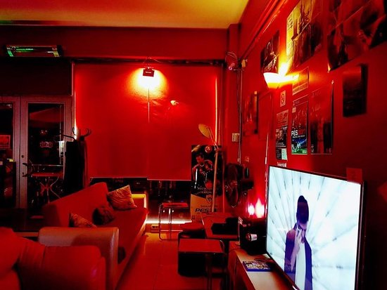 Red Playstation Cafe