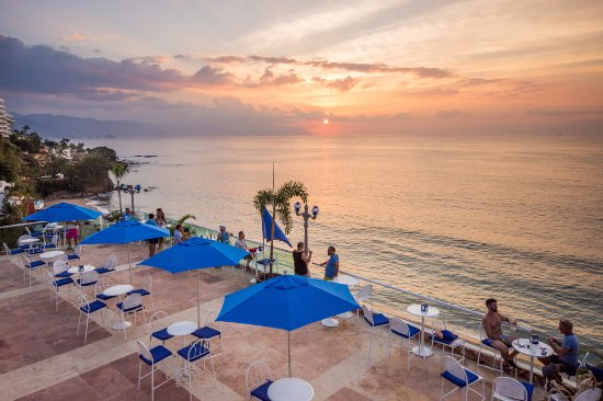 Blue Chairs Resort by the Sea Puerto Vallarta Mexico