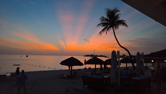Sandals Negril Beach Resort & Spa: Sunset at Sandals Negril