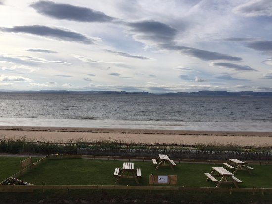 Portmahomack, UK: View from the room ...