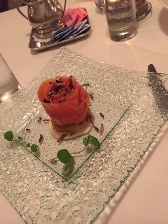 Winnetka, Илинойс: Amazing smoked salmon appetizer