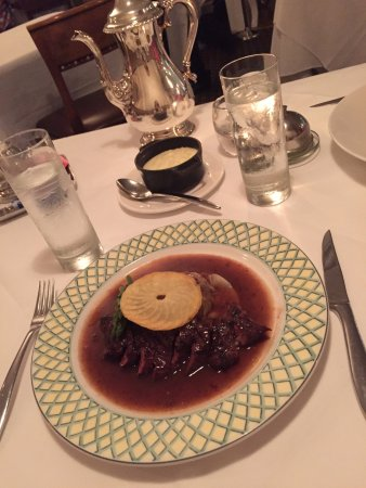 Winnetka, Илинойс: Sirloin beef with mashed potatoes