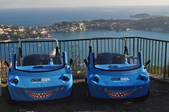 NiceCar Self-Guided Riviera Tour with 1-Hour Paddleboarding