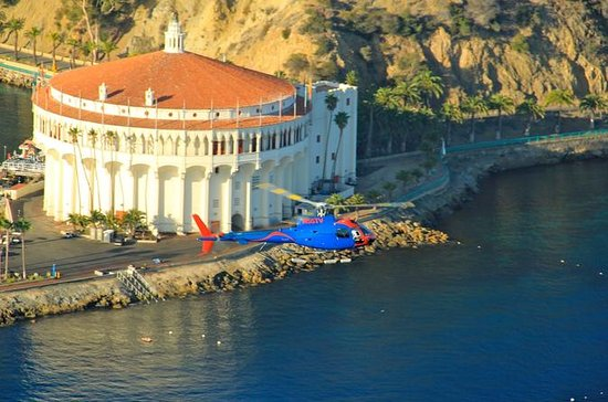 Catalina Helicopter Flight, Long...