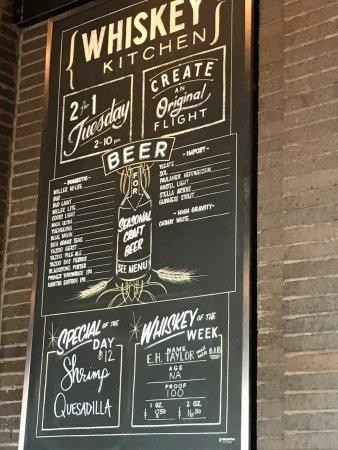 Whiskey Kitchen, Nashville - Menu, Prices & Restaurant Reviews ...