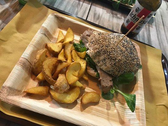 "Vianello's Sardinian Street Food: Sardinian Streetfood - Pizzeria "" San Teodoro"""