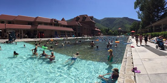 Glenwood Hot Springs Pool: piscina termal, con temperaturas entre 35 a 38 grados