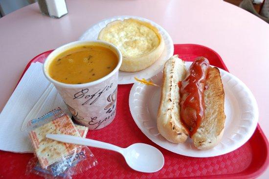 Georges Hot Dog Menu