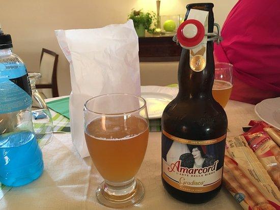 Hotel Castello : Best beer ever!