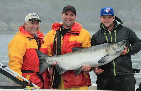 Denny Island, Canada: Best Fishing in BC!