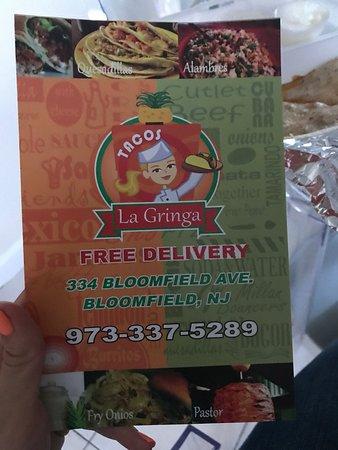 Bloomfield, Nueva Jersey: Tacos La Gringa