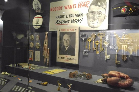 Independence, MO: swag Truman got during the campaign
