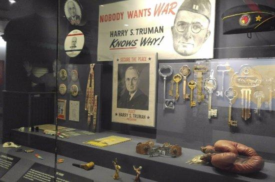 Ιντιπέντενς, Μιζούρι: swag Truman got during the campaign