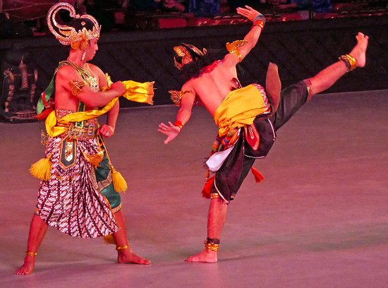 Prambanan Temples: Hand gestures are of key importance in this form of traditional ballet