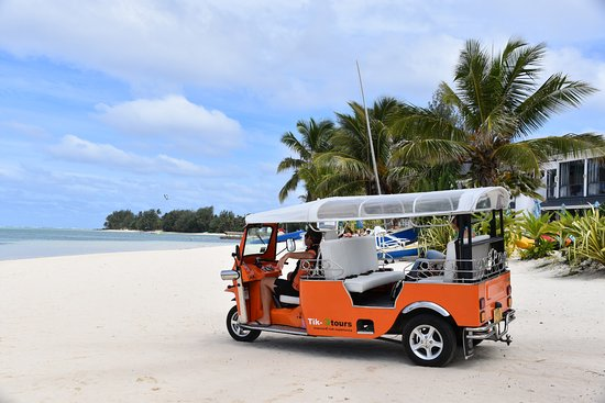 Arorangi, Cook Islands: Electric Tuk Tuk Tours in Paradise
