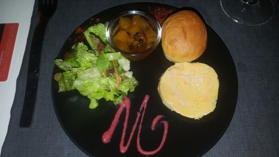 Cafe Wango: Foie gras avec son délicieux chutney ananas-passion