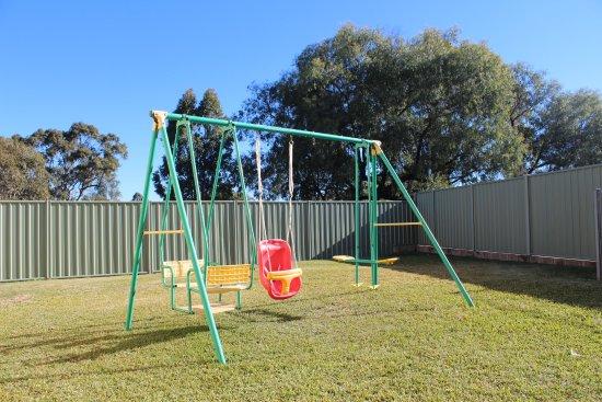 Roma, Australia: Children's Swing Set