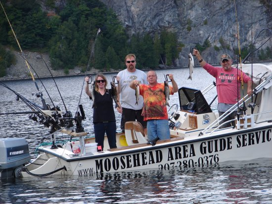 Greenville, ME: Check out our facebook page at Moosehead Area Guide Service.