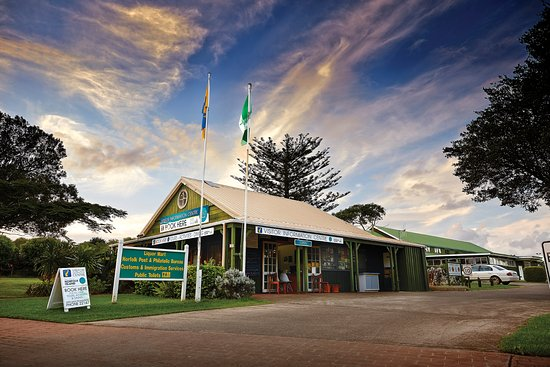 ‪Norfolk Island's  Visitors Information Centre‬